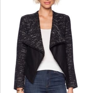 BB Dakota/Anthropologie -RENATA DRAPE FRONT JACKET